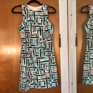 Love...ady | Geometric Pattern sheath dress